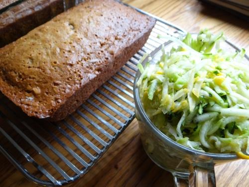 zucchini bread 2015